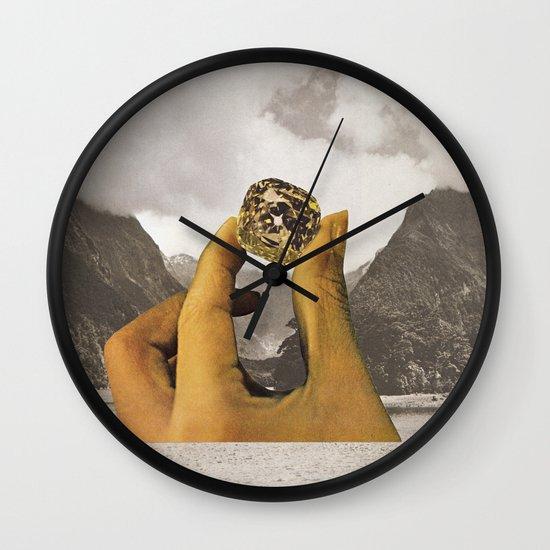 SEMI PRECIOUS Wall Clock