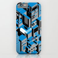 iPhone Cases featuring The Suburbs by Isra