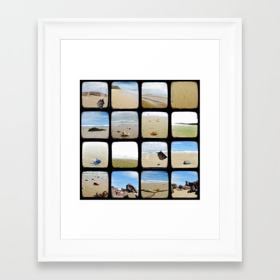 Beach Collective - Through The Viewfinder (TTV) Framed Art Print