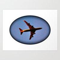 It's Actually A Plane! Art Print
