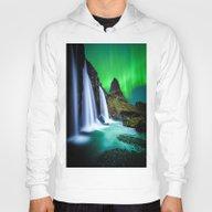 Aurora Borealis Waterfal… Hoody