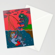 Fishin' time! Stationery Cards
