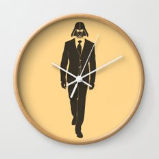 The suit is strong with this one. Wall Clock