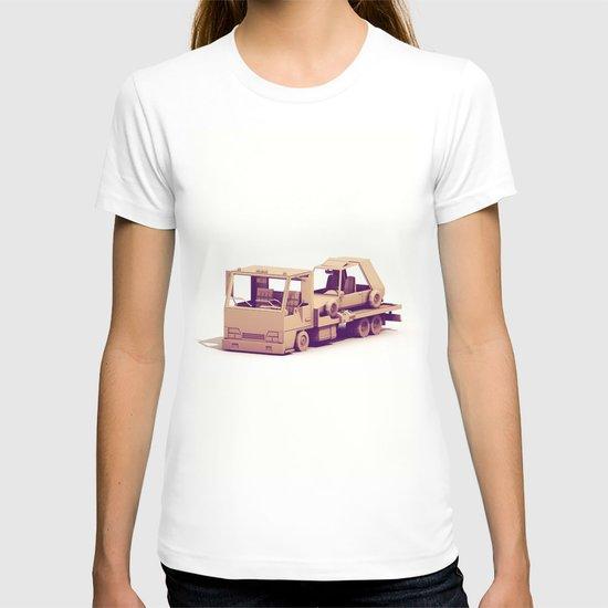 Race Car Hauler T-shirt