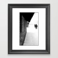 A Pause Framed Art Print