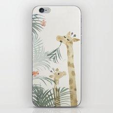 Two Giraffes iPhone & iPod Skin