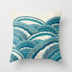 Hills Of Hope Throw Pillow