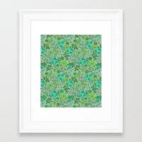 Floral2 Framed Art Print