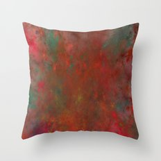 in the middle of the fire Throw Pillow