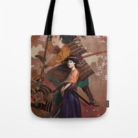 The Spirit of Tomoe Gozen Tote Bag