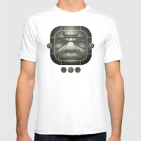 Olmeca I. Mens Fitted Tee White SMALL