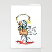 Where The Hell Is The Gl… Stationery Cards