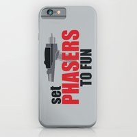 Set Phasers to Fun! iPhone 6 Slim Case