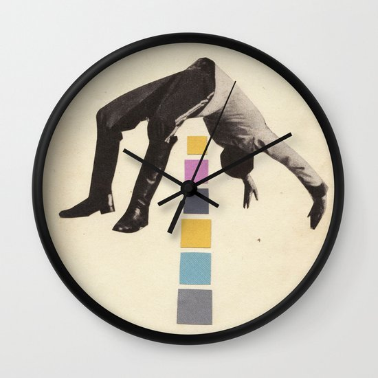 High Jump Wall Clock