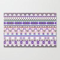 Purple tradition Canvas Print