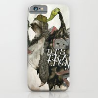 iPhone & iPod Case featuring The Sloth by Joshua Kulchar