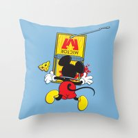 A Better Mousetrap Throw Pillow