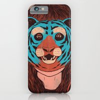 iPhone & iPod Case featuring Tiger Face by zansky