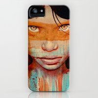 iPhone 5s & iPhone 5 Cases featuring Pele by Michael Shapcott
