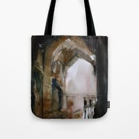Under The Ali Qapu Palac… Tote Bag