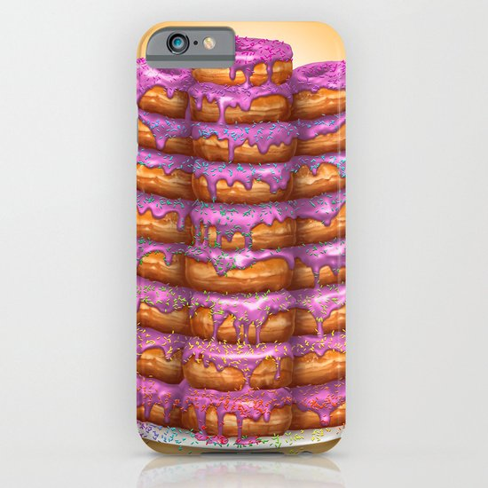 Donuts II 'Bon appetit Homer' iPhone & iPod Case