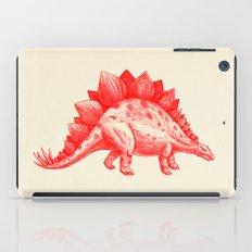 Red Stegosaurus  iPad Case