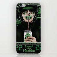 Feed Your Machine  iPhone & iPod Skin