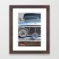 sweet vintage car Framed Art Print