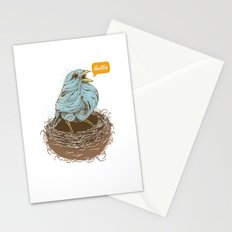 Twisty Bird Stationery Cards
