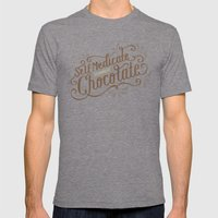 Chocolate RX Mens Fitted Tee Tri-Grey SMALL