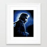 Mr. Cash Framed Art Print