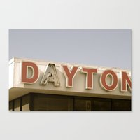 Daytona Canvas Print