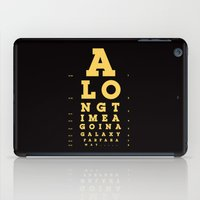 Jed Eye Chart iPad Case
