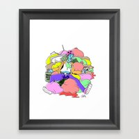 The End Of Lamont Freemo… Framed Art Print