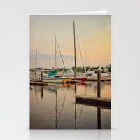 Wilmington City Docks on the Riverwalk Stationery Cards