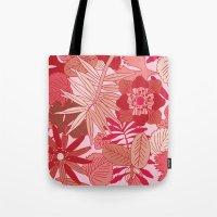 Botanic In Rose Tote Bag