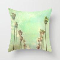 Los Angeles. La La Land … Throw Pillow