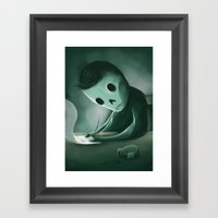 Unwritten Framed Art Print