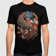 Healing Hands Mens Fitted Tee Black SMALL