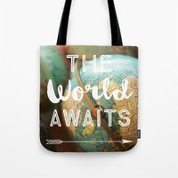 The World Awaits Tote Bag