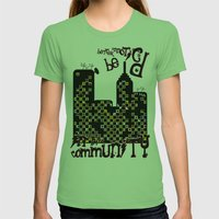 ...BETTER BE UNNOTICED I… Womens Fitted Tee Grass SMALL