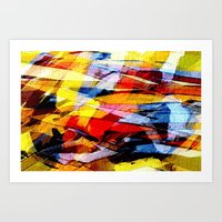 Abstrakt 53 Color Art Print
