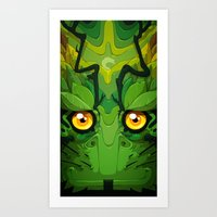 Oolong Art Print