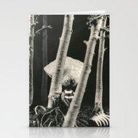 Oyster Boy - tim burton Stationery Cards