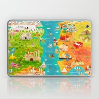 A Map of Ice and Fire Laptop & iPad Skin