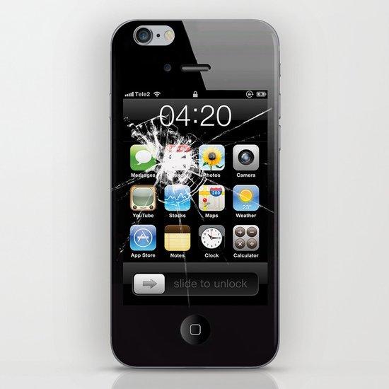 iPhone4 Broken (follow link below for iPhone5) iPhone & iPod Skin