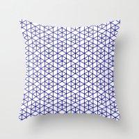 Karthuizer Blue & White … Throw Pillow