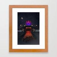 Mazu Crew Poster Framed Art Print