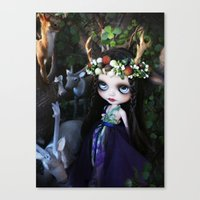 ISOBEL FAWN (Ooak BLYTHE Doll) Canvas Print