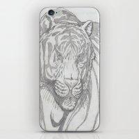 large tiger iPhone & iPod Skin